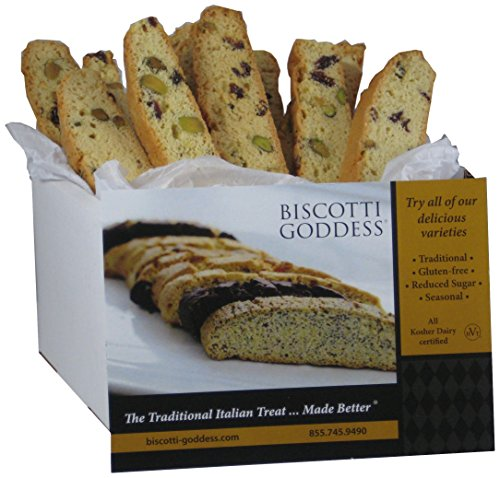 - Biscotti Goddess Orange Cranberry Pistachio Biscotti Cookie, 12 Count