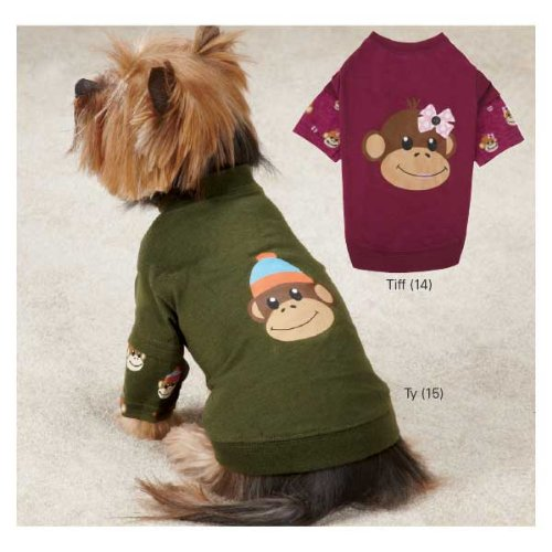 East Side Collection Monkey Business Dog Shirt
