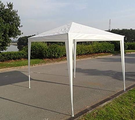 zxyzky - Cenador de jardín (3 x 3 m, toldo Impermeable para Bodas, Fiestas en el jardín, Color Blanco): Amazon.es: Hogar
