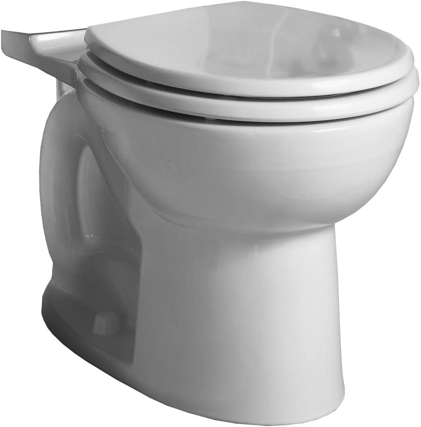 American Standard 3717b001 020 Cadet 3 Flowise Right Height Round Front Toilet Bowl Only In White 28 25 In Wide X 14 In Tall X 16 5 In Deep