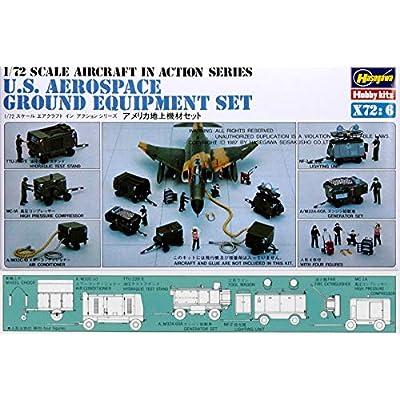Hasegawa 35006 1/72 U.S. Aerospace Ground Equipment Set: Toys & Games