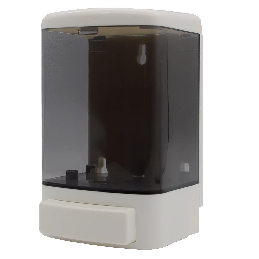 GreeSuit Dispensatore manuale di sapone plastica a parete Shampoo Condizionatore Gel doccia Gel dispenser Pompa di sapone per bagno o cucina 1000ml