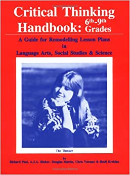 Audiobook Comprehension and Critical Thinking  Grade   Read Online     Critical Thinking Handbook  K    A Guide for Remodelling Lesson Plans in  Language Arts  Social Studies    Science  K    A Guide for Remodelling Lesson  Plans