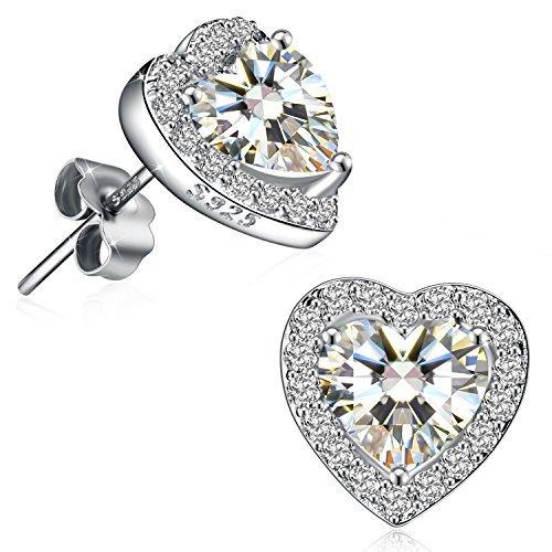Fine Sterling Silver Heart - 3