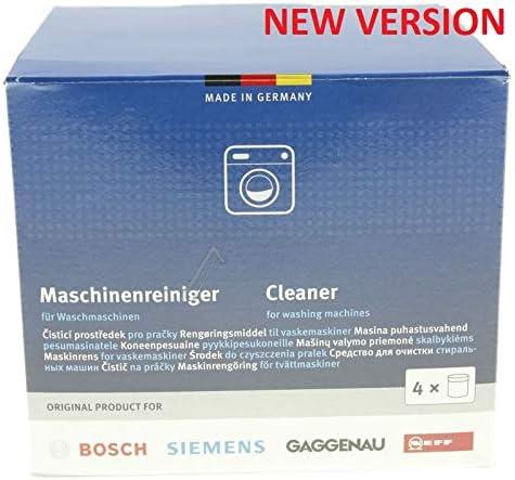 Bosch 311611 - Limpiador de lavadora original, 200 g, paquete de 4 ...