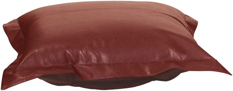 Howard Elliott Puff Ottoman Cushion With Cover, Avanti Apple