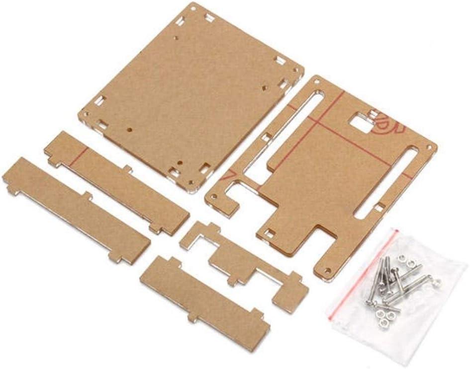 5Pcs Transparent Acrylic Shell Box for Arduino UNO R3 Module Case Power Module