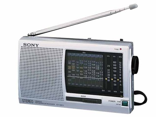 SONY 12 Bands World Band Receiver Radio ICF-SW11 | SW Introductory Model (Japan Import) (Japan Radio)