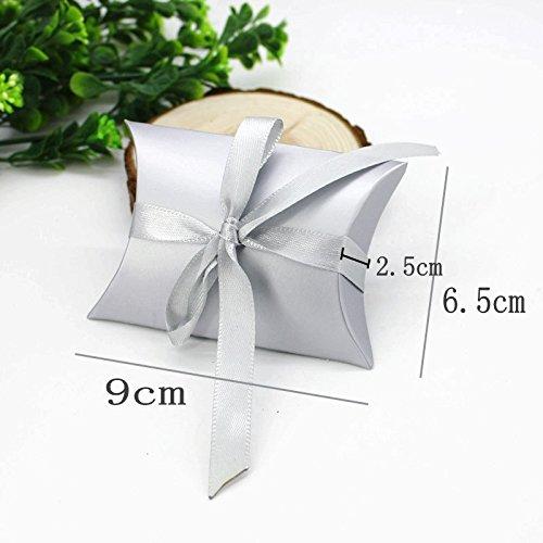 TRIXES 50 Pcs Wedding Favour Boxes Bridal Showers Parties Gifts Table Decoration