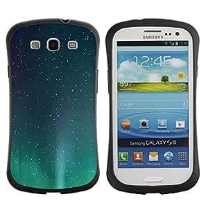 Suave TPU GEL Carcasa Funda Silicona Blando Estuche Caso de protección (para) Samsung Galaxy S3 I9300 / CECELL Phone case / / Stars Aurora Borealis Stars Northern Lights /