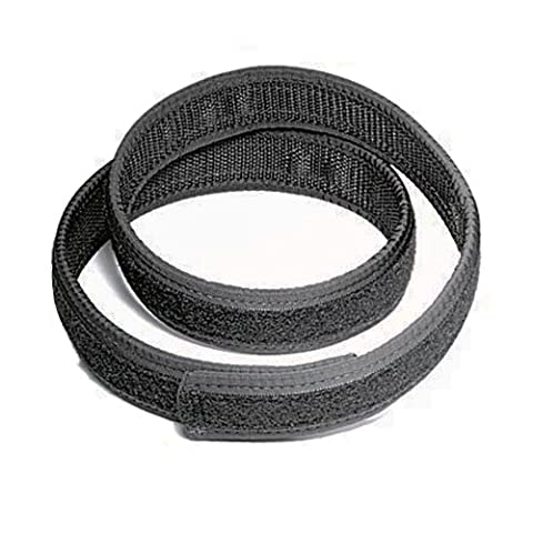 Uncle Mike's Kodra Nylon Web Ultra Reversible Inner Duty Belts with Hook and Loop Lining (X-Large,