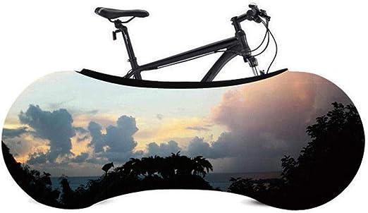 Ksruee Funda Bici para Interiores contra Polvo-Funda Bicicleta ...