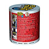 "Flex Tape Rubberized Waterproof Tape, 4"" x 5', Clear"