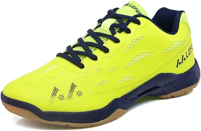YPPDSD Zapatillas de bádminton, Movimientos múltiples Zapatillas de Running Zapatillas de Entrenamiento para la práctica de Motos Zapatillas de Jogging Unisex Zapatillas Deportivas,A,45: Amazon.es: Hogar