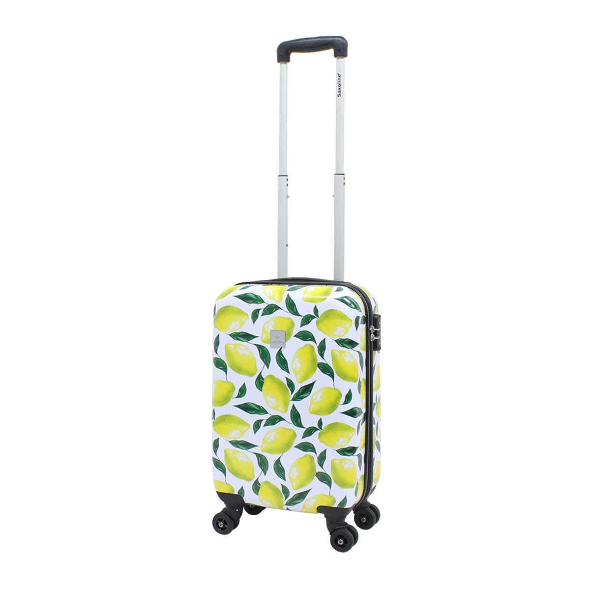 Image of Luggage Viaccio Saxoline Hard Case Hand Luggage Size S 55 cm Lemon