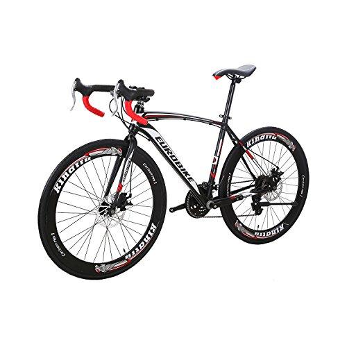 Road Bike XC550 27 Speed 700C Road Bicycle Dual Disc Brake Bicycle