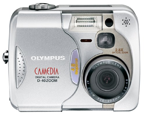 D40 Zoom Battery (Olympus Camedia D-40 4MP Digital Camera with 2.8x Optical Zoom)