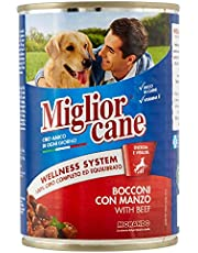 MigliorCane Chunks with Beef - Complete Dog Food 405g