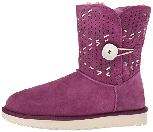 B Winter Passion Us Women's Us Ugg Tehuano 8 Button 8 Boot Purple Bailey 4PSIqx1