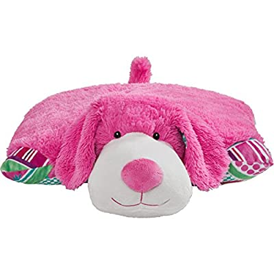Pillow Pets Colorful Pink Puppy - 18