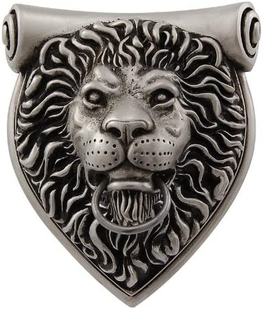 Vicenza Designs DK9000 Sforza Lion Door Knocker Antique Gold
