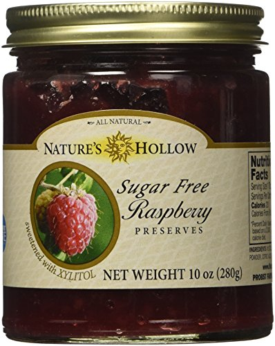 Low Carb Jelly (Nature's Hollow Sugar Free Raspberry Preserves)