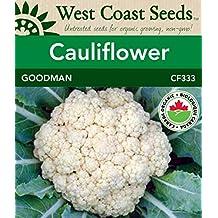 Cauliflower Seeds - Goodman Organic