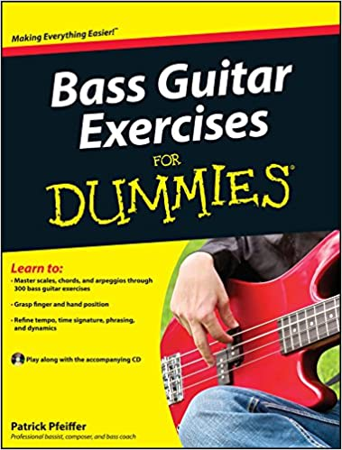 Bass Guitar Exercises for Dummies [With CD (Audio)]: Amazon.es: Patrick Pfeiffer: Libros en idiomas extranjeros