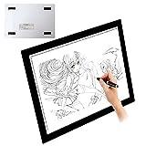 Light Pad Drawing A4 LED Tracing Light Box Adjustable Ultra Slim Tattoo Lightbox Tracing Photo Drawing Board
