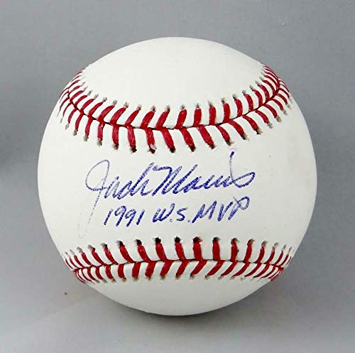 Jack Morris Signed Ball - Rawlings OML w 1991 WS MVP Beckett Auth - Beckett Authentication - Autographed Baseballs