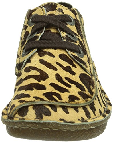 Clarks Funny Dream, Women Brogue, Multicolour (Leopard Print), 7.5 UK (41.5 EU): Amazon.co.uk: Shoes & Bags