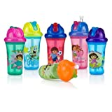 Baby : Nuby Dora the Explorer No-Spill Flip-it Cup - 9 Oz.