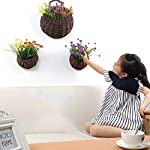 YNFNGXU-Hanging-Basket-Artificial-Lotus-Flower-is-Suitable-for-Wall-Decoration-Indoor-Shopping-Mall-4-Colors-Optional-Color-C