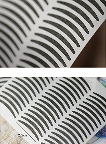 Lady Fashion 72 Pair Slim Double Eyelid Maker Stickers Pads Tapes Self-Adhesive Waterproof Long Lasting Beauty Cosmetic Makeup-Small AOSTEK(TM)