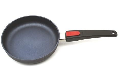 Woll Try-me-Pan - Sartén de hierro fundido para cocinas de inducción,