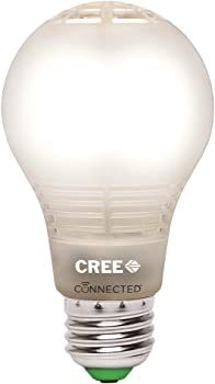 Cree Connected 60W Equivalent Soft White A19 Dimmable LED Light Bulb