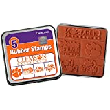 Clearsnap Color Box Clemson University Rubber Stamp Set