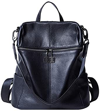 Amazon.com: BOYATU Convertible Genuine Leather Backpack