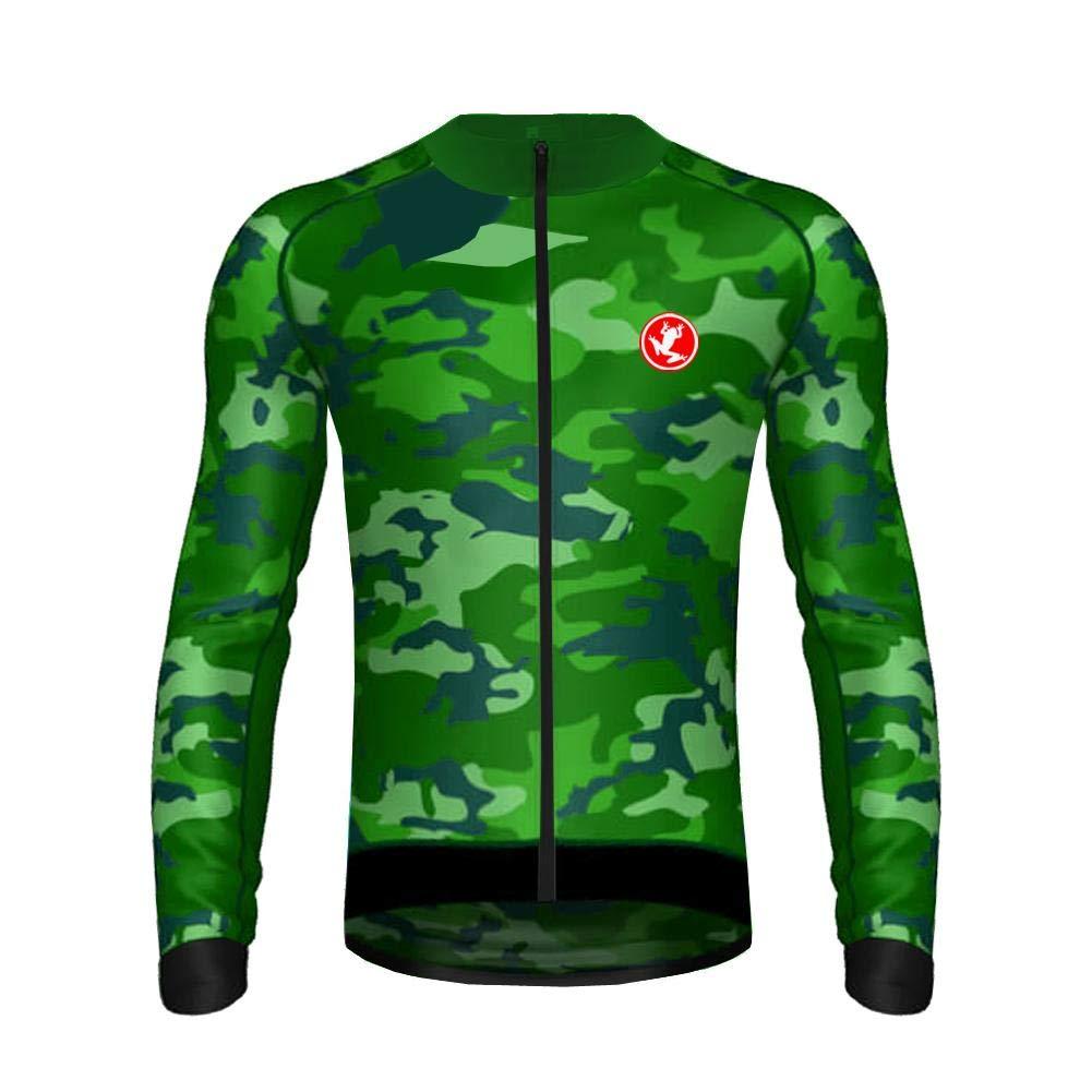 Uglyfrog 2018-2019 MA03 Frühling Herbst Fahrradtrikot Langarm Shirt Herren Breathable Radfahren Fahrrad Lange Hülsen Jersey Fahrrad Hemd Männer Langarm Fahrradbekleidung Radfahren