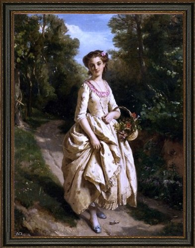 Henri-Guillaume Schlesinger an Afternoon Stroll - 21.05