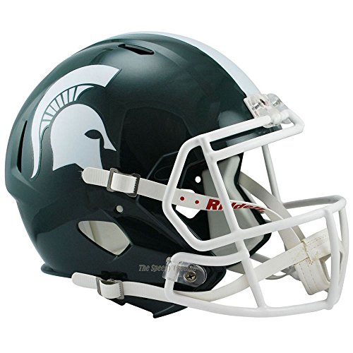 Michigan State Spartans Officially Licensed NCAA Speed Full Size Replica Football Helmet by Riddell