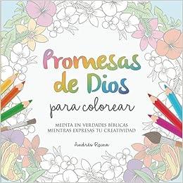 Amazoncom Promesas De Dios Para Colorear Medita En Verdades