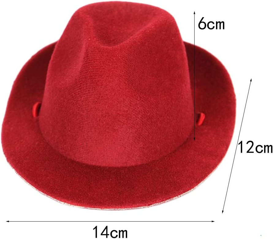 F Fityle Adjustable Pet Cowboy Hat Dog Costume Funny Pet Hooded Clown Costume for Small Dogs /& Cats Halloween Party Cosplay Sapphire Blue