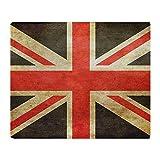 union jack fleece - CafePress - Vintage Union Jack - Soft Fleece Throw Blanket, 50