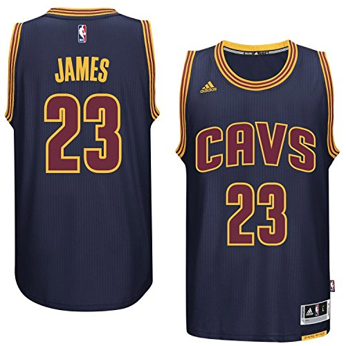 LeBron James Men's Navy Cleveland Cavaliers adidas Swingman Jersey 4X-Large Cleveland Cavaliers Swingman Jerseys