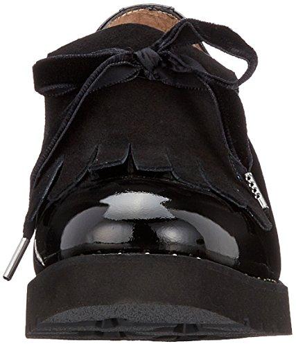 Señoras Calpierre D266-y Zapatillas Bajas Negro (nero) Elección a la venta NTgqeH