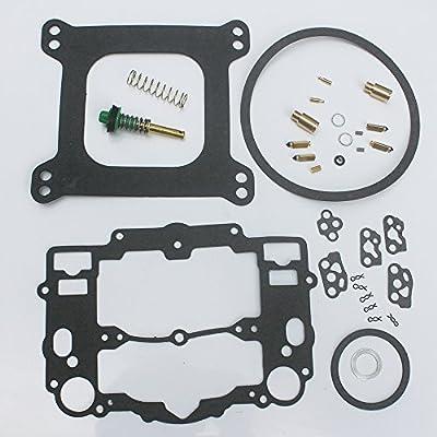 KIPA Carburetor Rebuild Kit For EDELBROCK # 1477 1400 1404 1405 1406 1407 1409 1411 Fits all Automotive 500 600 650 700 750 & 800 CFM Weber Marine carburetor Mercruiser kit # 809064 Carter 9000 series: Automotive