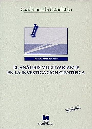El análisis multivariante en la investigación científica ...