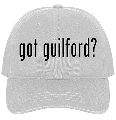 - The Town Butler got Guilford? - A Nice Comfortable Adjustable Dad Hat Cap, White
