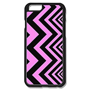Uncommon Pink Black Fashionable Stripe IPhone 6 Case For Couples